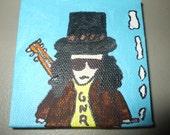 Slash Creature Original Painting
