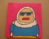 Captain Cold Original Creature Painting
