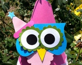Hooty Owl Party Hat
