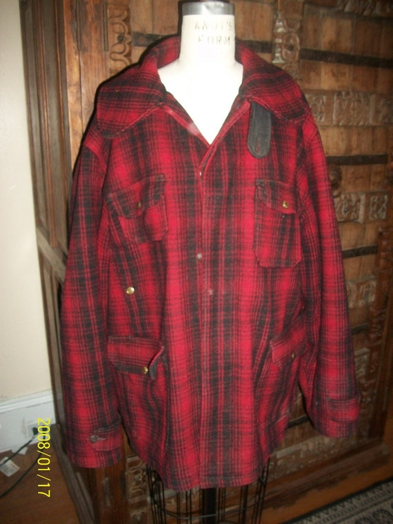 Vintage Men's woolrich hunting jacket