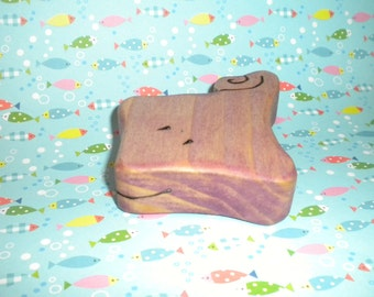 Waldorf Inspired Kids Wooden Play Stingray Toy