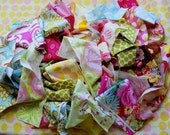 SALE 1lb Finest Quality Designer Fabric Scraps
