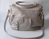 SALE - 6 pocket Classic Okinawa bag in cement