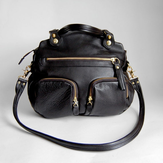 6 pocket Shikotsu bag in black