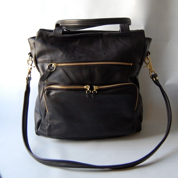 SALE - Willow tote in black