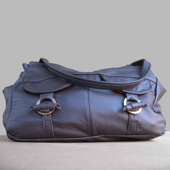 5 pocket medium large travel bag in coffee brown