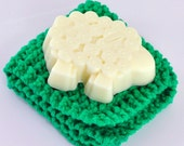 Fresh and Clean Sheep Soap Gift Set with 100 Percent Cotton Cloth