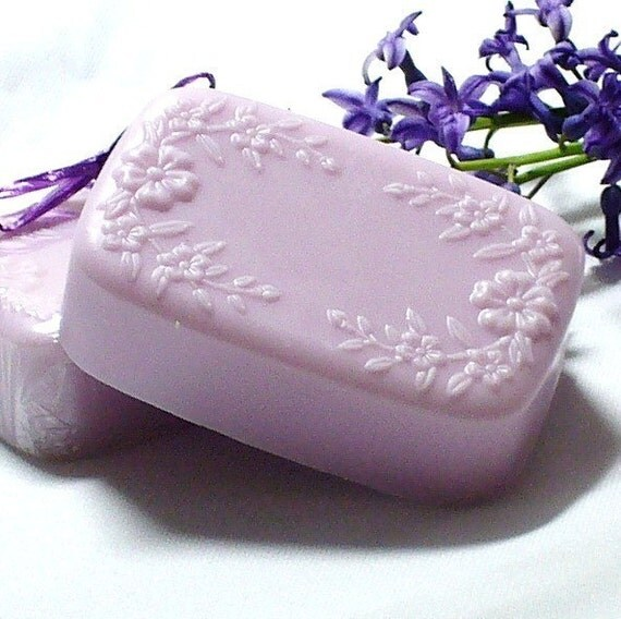 Sale SALE Lilac and Lavender Goats Milk Soap LAST ONE