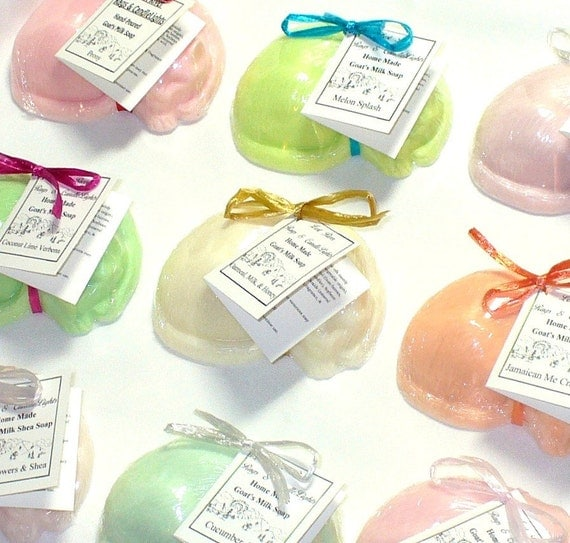 Pick Your Scent Set of 3 Sleeping Kitty Cat Soaps