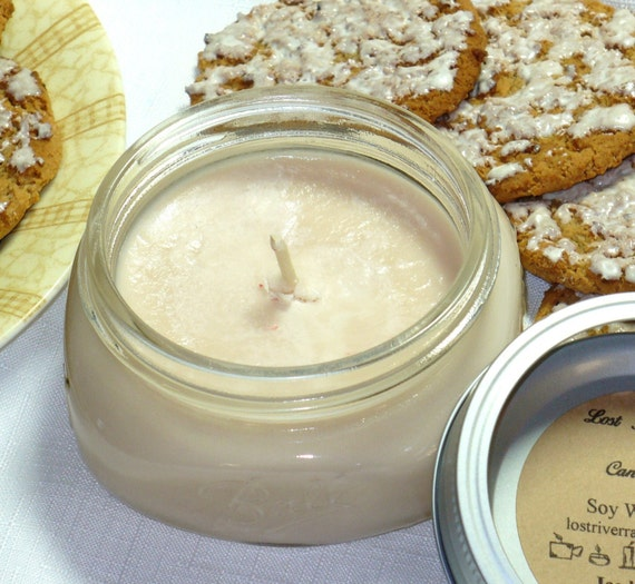 Iced Cookies 8oz Soy Wax Candle