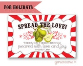 Personalized Jam or Jelly Labels - Holidays - Baptisms - Showers - Gift / DIGITAL FILE