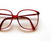 vintage OVERSIZED glasses / vintage 1970s huge black sunglasses