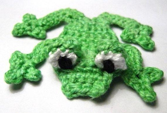 Pattern Frog Applique PDF