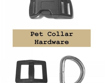 """20 SETS - 5/8"""" - Dog Collar Kits, 5/8 inch, 60 Pieces, 15.8mm"""