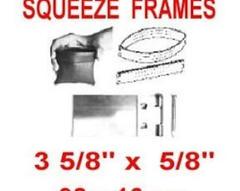 """100 Pouch Frames - 3 5/8"""" - SQUEEZE FRAME, 3 5/8 inch, Coin Purse, Eye Glass Case, 92mm"""