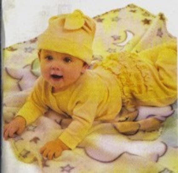 McCalls Sewing  Pattern - 3665 - 10 Wardrobe Pieces - 4 Infant sizes
