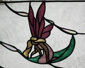 Stained Glass Sun Catcher - Fairy Angel