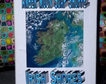 Irish Shores Handmade Organic Shea Butter Soap Cold Process 5 oz