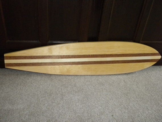 Surfboard (CHUCK)-pine, alder, and mahogany