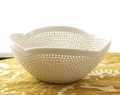 Berry Bowl with Scalloped Edge