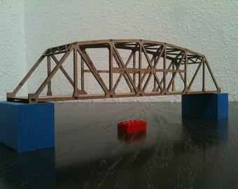 HO Scale bridge in a bag