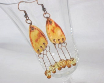 Spiced Honey Cut Ups - Earrings With Attitude