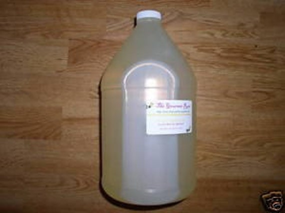 1 Gallon Natural LAUNDRY SOAP Unscented All Purpose Glycerin All Vegan Liquid Gel Wholesale Bulk No Detergent SLS Free Eco Earth Friendly