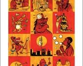 Chinese Zodiac poster by Wayno