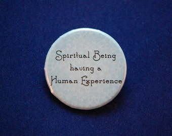 Spiritual Being Button