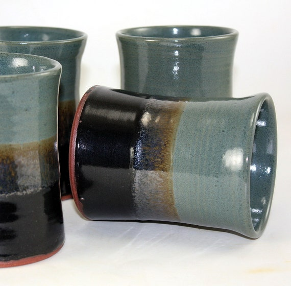 Pottery Tumbler Drinking Glass