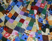 Large 2 Inch I spy Quilt - FRONT ONLY