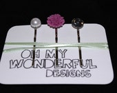 SALE - Set of 3 hair pins