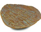 Ceramic Trinket Dish - Stocking Stuffer - Hostess Gift- Soap Dish - Spoon Rest -  Organic Form - Handmade Pottery - Ready to Ship