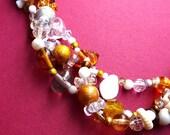 Snowbells, Necklace, ON SALE