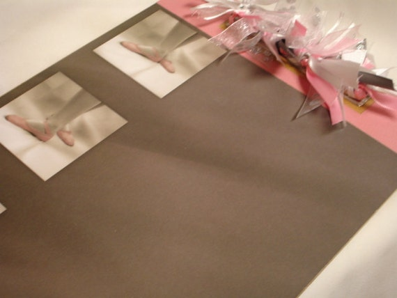 BALLET ALTERED CLIPBOARD