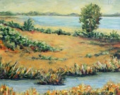 Landscape Painting -- Water's Edge