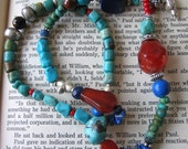 Bright Bird Necklace - reserved for whiteweberjm
