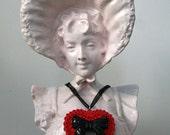 Fabulous Heart Necklace Lolita Cute Kawaii Deco Girly Feminine by Cutie Dynamite