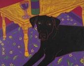 Distinguished Dog II - Dog Pop Art Print - by dogpopart on etsy