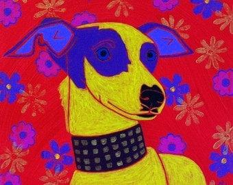 Italian Greyhound Print - Italian Greyhound Art - Fine Art Print by Angela Bond