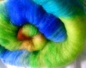 Art batt SALE buy 3 get 1 free 4 oz. merino firestar hand dyed batt ITALIA