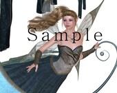 Moon Fairies Graphics  Clip art, maigcal fairy clip art, Royalty free fairy images photo shop