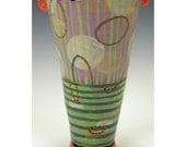 Simple Vase, Flower Bucket, Floating Circles.