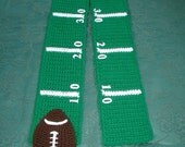 Football SCARF Superbowl Game Time Made To Order