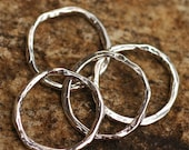 19mm Artisan Links in Sterling Silver, AD-154