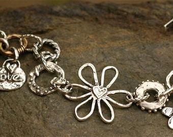 Signature Artisan Sterling Silver Abundance Bracelet