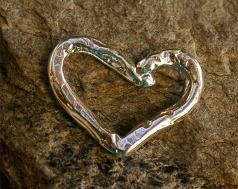 HEART Link in Sterling Silver -HL20