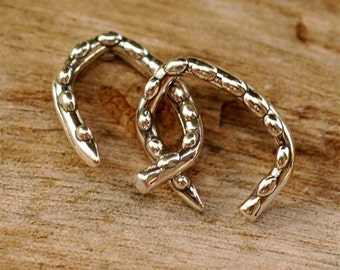 TWO Artisans Bumpy Jump Ring in Sterling Silver, JR-2