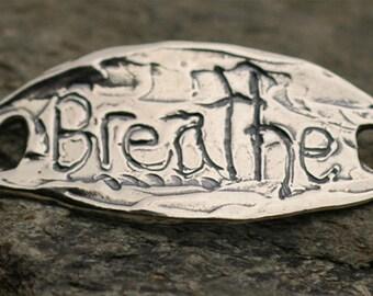 Breathe Bracelet Link in Sterling Silver AD260