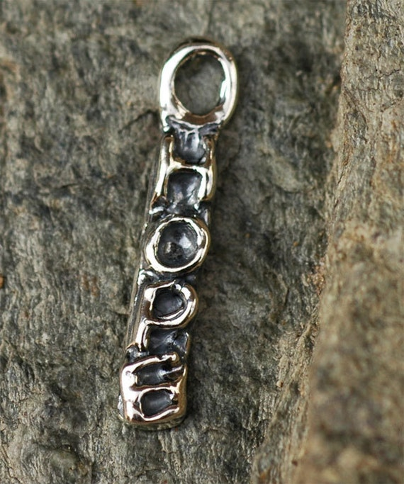 Hope Tag Charm in Sterling Silver 245s